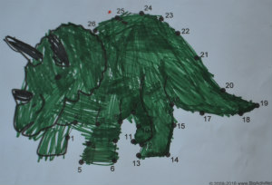 dinosaur unit study-triceratops-maths 3